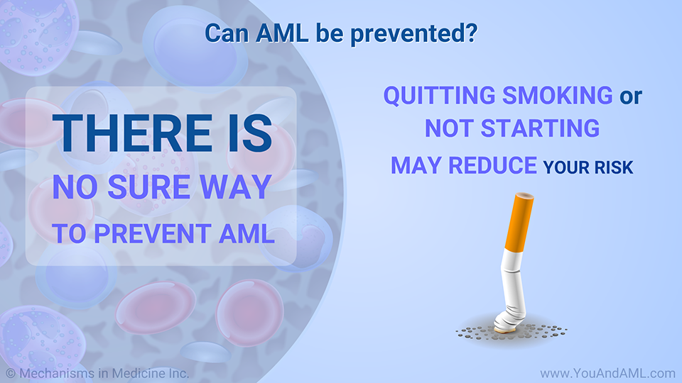 Can AML be prevented?